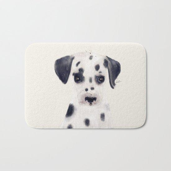 little dalmatian Bath Mat