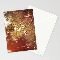 golden dandelions. Stationery Cards