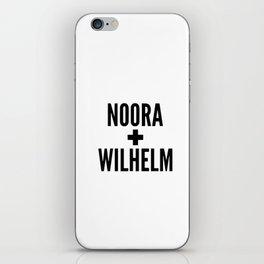 Noora Wilhelm iPhone Skin
