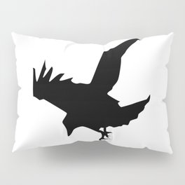 Raven A Halloween Bird Of Prey  Pillow Sham