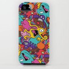 More Monsters, More Patterns Tough Case iPhone (5, 5s)