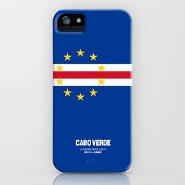 Cabo Verde case iPhone Case