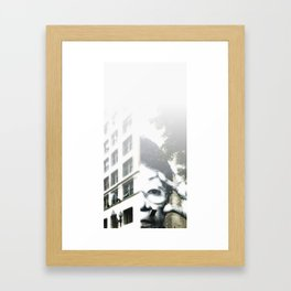 Homage to JR Framed Art Print