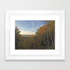 Fall Clearing Framed Art Print
