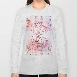 Technical Sketch Long Sleeve T-shirt