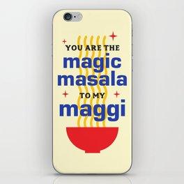 Magic Masala iPhone Skin