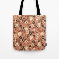 Festive Florals (Oranges) Tote Bag