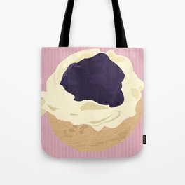 Blueberry Cream Puff Tote Bag