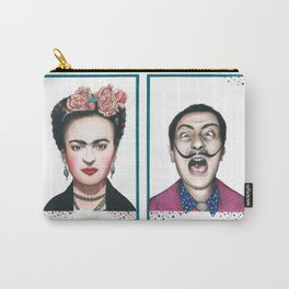 Frida and Salvador Carry-All Pouch