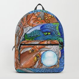 The Lobster and the Dragon, Chaos and Order Yin Yang Backpack