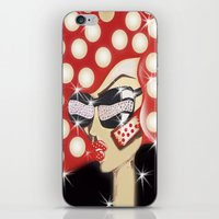 sin city iPhone & iPod Skins featuring Sin City by Artist Fran Doll