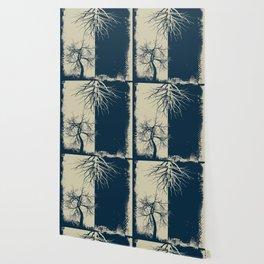 Rubino Grunge Tree Wallpaper