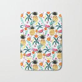 Tropical Fruits Bath Mat