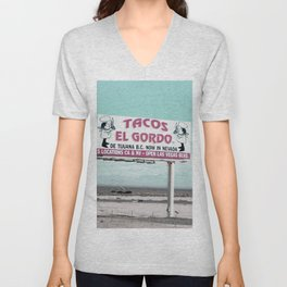 Tacos Unisex V-Neck