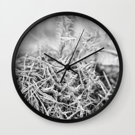 Spiked forest Wall Clock