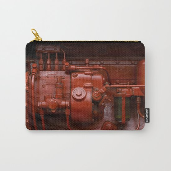 Red Tractor motor Carry-All Pouch
