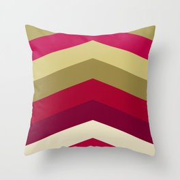 Cherry colors Throw Pillow