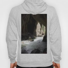 The Way Out of Box Canyon Falls Hoody