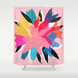 lily 14 Shower Curtain