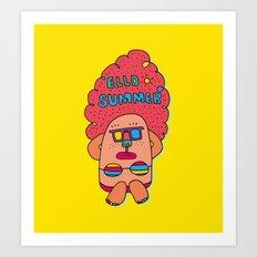 Ello Summer Art Print