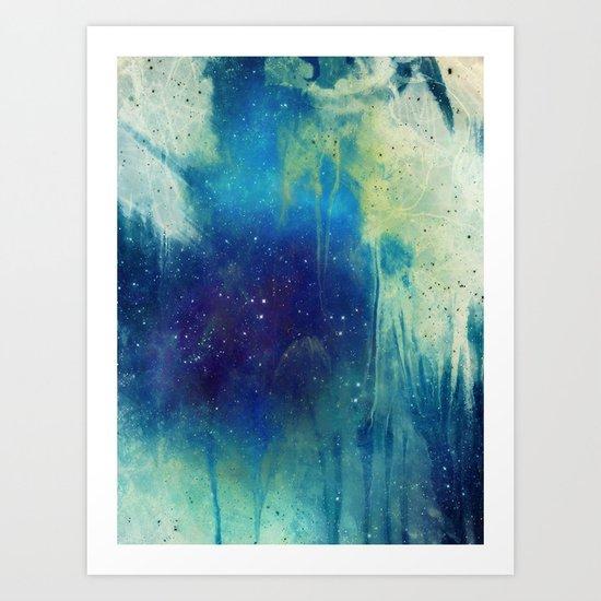Veil of Infinity Art Print