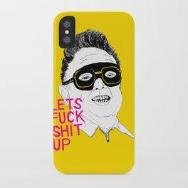 F*ck Sh*t Up iPhone Case