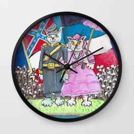 Mississippi Cat Wall Clock