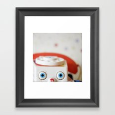 I Miss Our Chats Framed Art Print