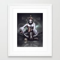 harley Framed Art Prints featuring Harley by JudasArt