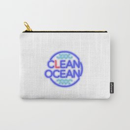 Clean Ocean – Solo Carry-All Pouch