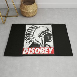 Indian disobey Rug