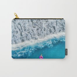 Just Me and the Sea Carry-All Pouch