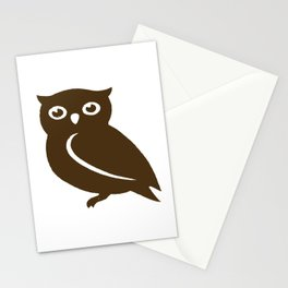 Little Brown Owl Stationery Cards