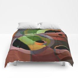 Warm Wind Waning Comforters