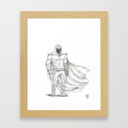 Moonknight Framed Art Print