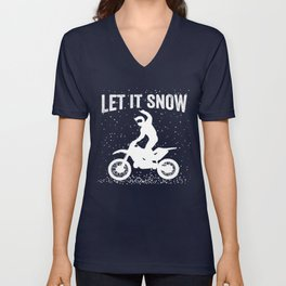 Let it snow Unisex V-Neck