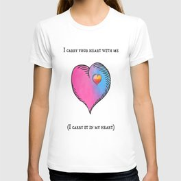 e. e. cummings T-shirt