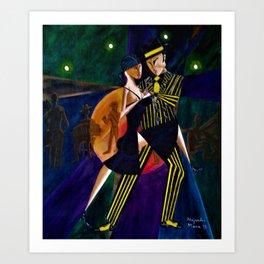 TANGO...Cubism/Futurism...From the Original Painting...New Art. Art Print