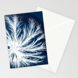 Mycelium in a petri dish Stationery Cards
