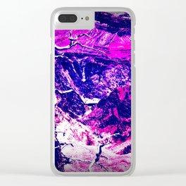 Savage Grandeur-purple Clear iPhone Case