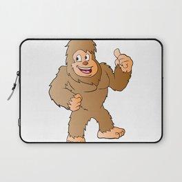 Bigfoot cartoon Laptop Sleeve