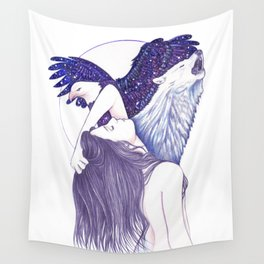 Wings Of An Eagle Wall Tapestry