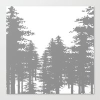 forrest Canvas Prints featuring Forrest by Dan Parker