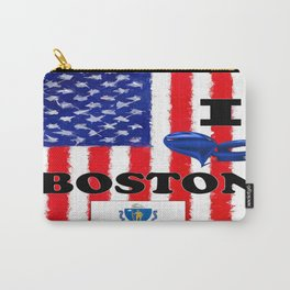 I Love..........Boston Carry-All Pouch