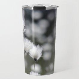 Wispy Flowers Travel Mug