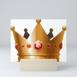 Crown Mini Art Print