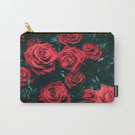 Red Roses in the Dark Carry-All Pouch