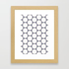 Sakura Hex by Friztin Framed Art Print