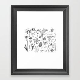 Wild Gatherer III Framed Art Print