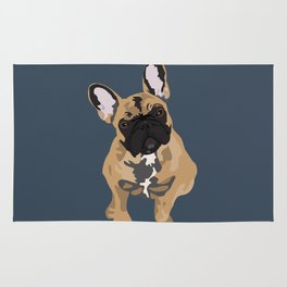 Zoey the Frenchie Rug